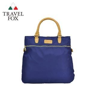 【TRAVEL FOX 旅狐】親輕3WAYS三用尼龍包(TB693-47 藍色)
