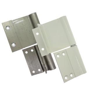 HI026 紗門專用後鈕 一組(兩片)鋁門後鈕 插心後鈕 旗型鉸鏈(推拉門鉸鏈 適用紗門、輕鋁門窗)
