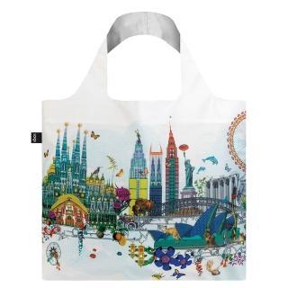 【LOQI】天際線 KWWS(購物袋.環保袋.收納.春捲包)