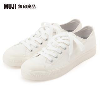 【MUJI 無印良品】男撥水加工有機棉舒適休閒鞋(共6色)