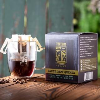 【TRIBO COFFEE】新幾內亞 瓦吉谷地 精品濾掛式咖啡/ 掛耳包(11g x 10包)