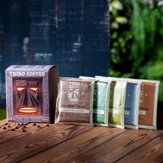 【TRIBO COFFEE】經典綜合5種口味 精品濾掛式咖啡/ 掛耳包(11g x 10包)