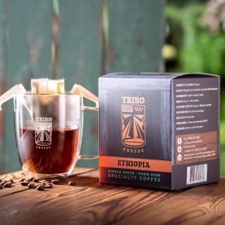 【TRIBO COFFEE】衣索比亞 西達摩 精品濾掛式咖啡/ 掛耳包(11g x 10包)
