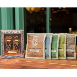 【TRIBO COFFEE】經典綜合5種口味 精品濾掛式咖啡/ 掛耳包(11g x 5包)