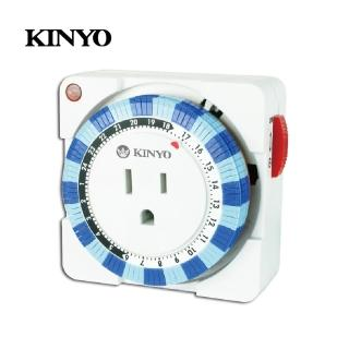 【KINYO】24小時多時段定時器(TM-2)