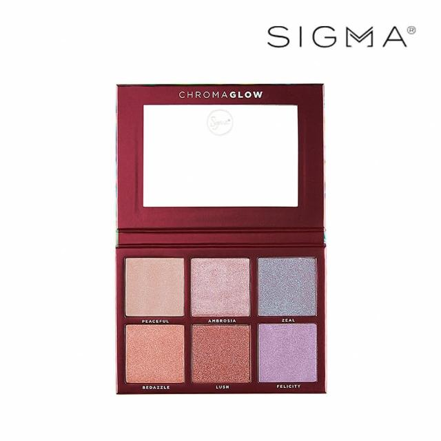 【Sigma】6色打亮修容盤 28.14g Chroma Glow Shimmer Highlight Palette(原廠公司貨)