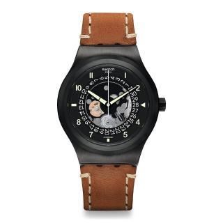 【SWATCH】51號星球 機械錶 SISTEM THOUGHT 大思想家(42mm)