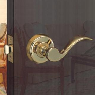 WACH 花旗門鎖 湯匙型水平把手 W2013 金 W2016 銀 下座水平鎖(房門鎖 板手鎖 把手鎖 硫化銅門鎖)