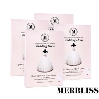 【MERBLISS】婚紗面膜 4入組(25g*5片/盒)