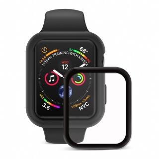 【JTL】Apple Watch Series 6/5/4/SE 44mm Doux  柔矽全方位保護殼組  保護殼+3D保貼