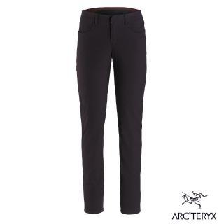 【Arcteryx 始祖鳥】女 24系列 Levon 棉質混紡 休閒長褲(狄馬褐)