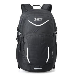 【英國TERRA PEAK】都市休旅背包-Venture 32(格紋黑)