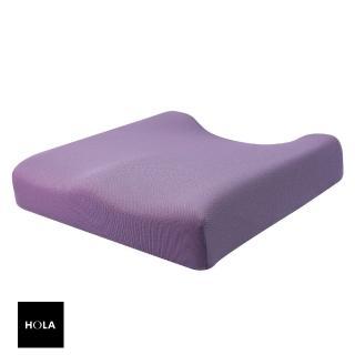 【HOLA】高密度抗菌健康塑型釋壓坐墊紫色