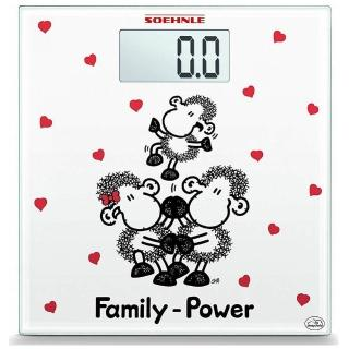 【Soehnle】德國進口卡通圖案小羊玻璃電子體重計