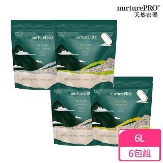 【NurturePRO 天然密碼】豆腐貓砂 6L(6入1箱)