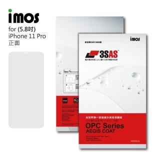 【iMos】Apple iPhone 11 Pro(3SAS 螢幕保護貼)