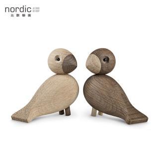 【北歐櫥窗】Kay Bojesen 木頭愛情對鳥