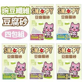 【SNAPPY】豌豆纖維豆腐砂7L(四包組)