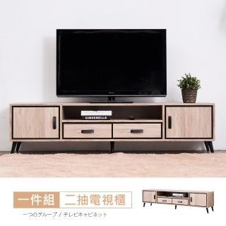 【時尚屋】奧爾頓橡木6尺電視櫃RV8-A706(免運費 免組裝 電視櫃)