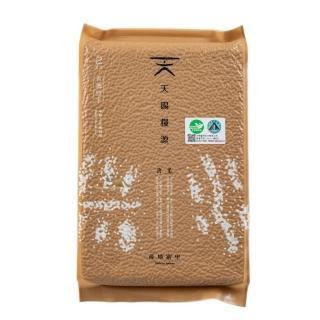 【天賜糧源】天賜糧源有機糙米2kg/1包(有機米/糙米)