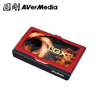 【圓剛】GC551 LGX2個性化實況4Kp60高畫質擷取盒
