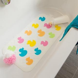 【vanibaby】浴室防滑墊 浴盆止滑墊(粉彩鴨鴨)