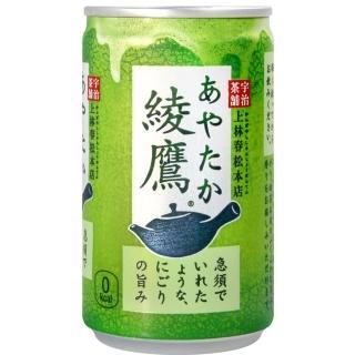 【可口可樂】綾鷹綠茶(160ml)