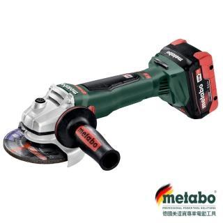 【metabo 美達寶】WB 18 LTX BL 125 QUICK 613077660 充電五英吋無刷砂輪機