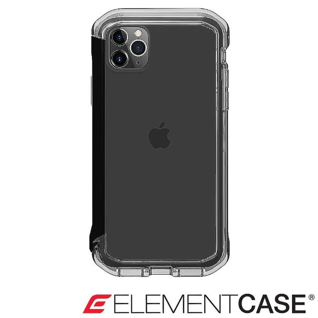 【Element Case】iPhone 11 Pro Rail(神盾軍規殼 - 晶透黑)