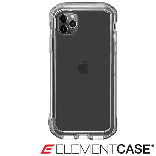 【Element Case】iPhone 11 Pro Max Rail(神盾軍規殼 - 全透明)