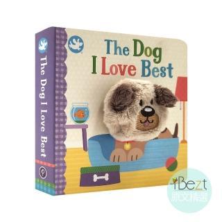 【iBezt】The Dog I Love Best(Little Learners Finger Puppet Book)