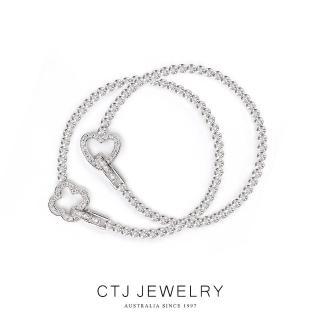 CTJ 幸福1克拉鑽石手鍊-國際名品訂製款