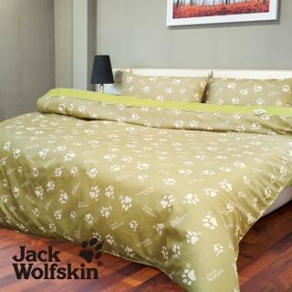 【Jack wolfskin 飛狼】深綠被套(6x7尺)