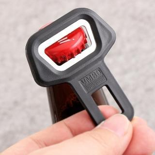 【吉米生活】VMBO不鏽鋼 車用 安全帶插扣 玻璃瓶裝 飲料 汽水 開瓶器(可插入安全帶插扣)