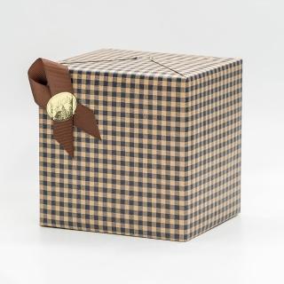 禮物包裝(咖啡色格子款)