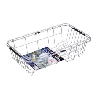 【ASVEL】流理台置物籃架(廚房收納 清潔乾燥 收納架 抗菌防霉 碗盤餐具 瀝水架)