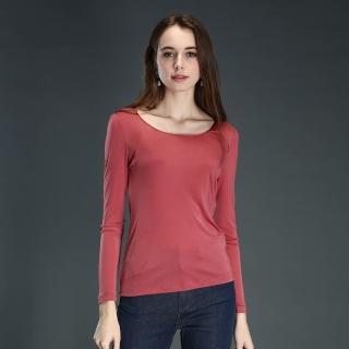 矜蘭妃-42針雙面綢緞溫感極享長袖衫