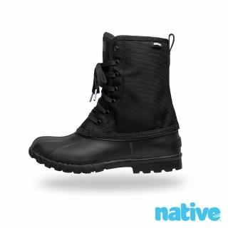 【native】JIMMY CITYLITE 獵鴨男/女靴(時尚黑)