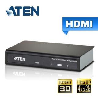 【ATEN】2埠 HDMI 影音分配器 支援4K2K(VS182A)