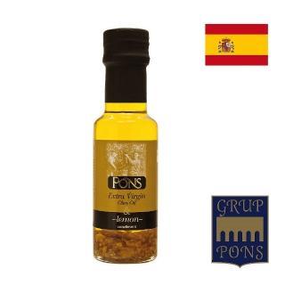 【PONS 龐世】龐世特級橄欖油-檸檬風味125ML(進口食材)