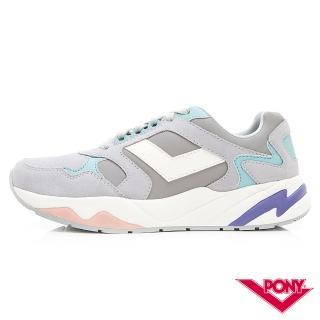【PONY】Modern系列-復古運動鞋 厚底老爹鞋 潮流 舒適 球鞋-女-灰