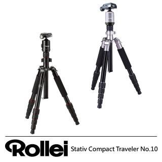 【Rollei】Stativ Compact Traveler No.10 可反折輕便旅行三腳架