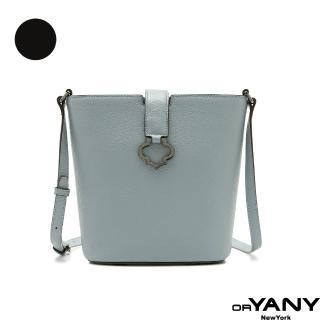 【orYANY】BLISS 金屬LOGO扣環肩斜背包(兩色)