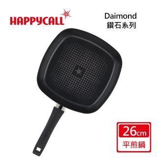 【韓國HAPPYCALL】鑽石不沾鍋26公分方形平底鍋(26cm方形平底鍋)