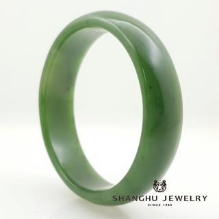 【尚虎珠寶】碧玉-福鐲(西伯利亞頂級礦區品種)