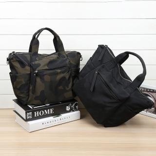 【VIVI SECRET】率性輕便尼龍材質手提斜背二用包(共2色)
