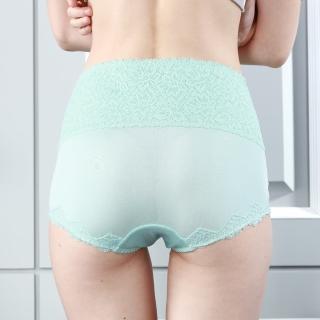 【矜蘭妃】100%蠶絲高腰X型三層加壓收腹褲(6件組)