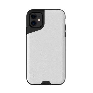 【Mous】Contour 天然材質防摔保護殼-雅白皮革(iPhone 11 6.1吋)
