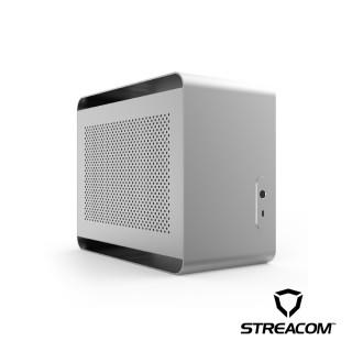 【STREACOM】DA2 ITX 個人化創作電腦機殼-消光銀(STREACOM)