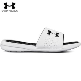 【UNDER ARMOUR】UA 拖鞋 男 Playmaker Fixed Strap _3000061-102(白)